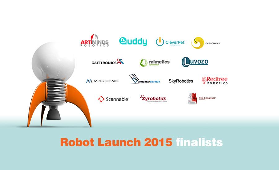 THE CONSTRUCT WON AT ROBOT LAUNCH 2015 MORE THAN 10O STARTUPS