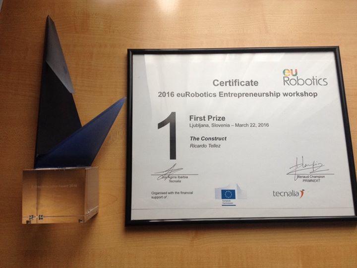 The Construct won the Entrepreneurship Award 2016