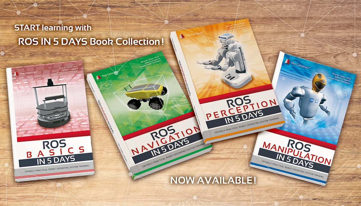 ROS Books | The Construct