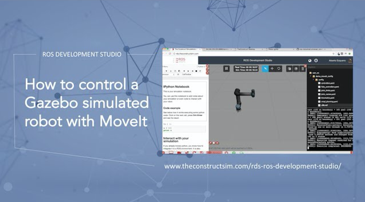 ROS Q&A] How to control a Gazebo simulated robot with MoveIt