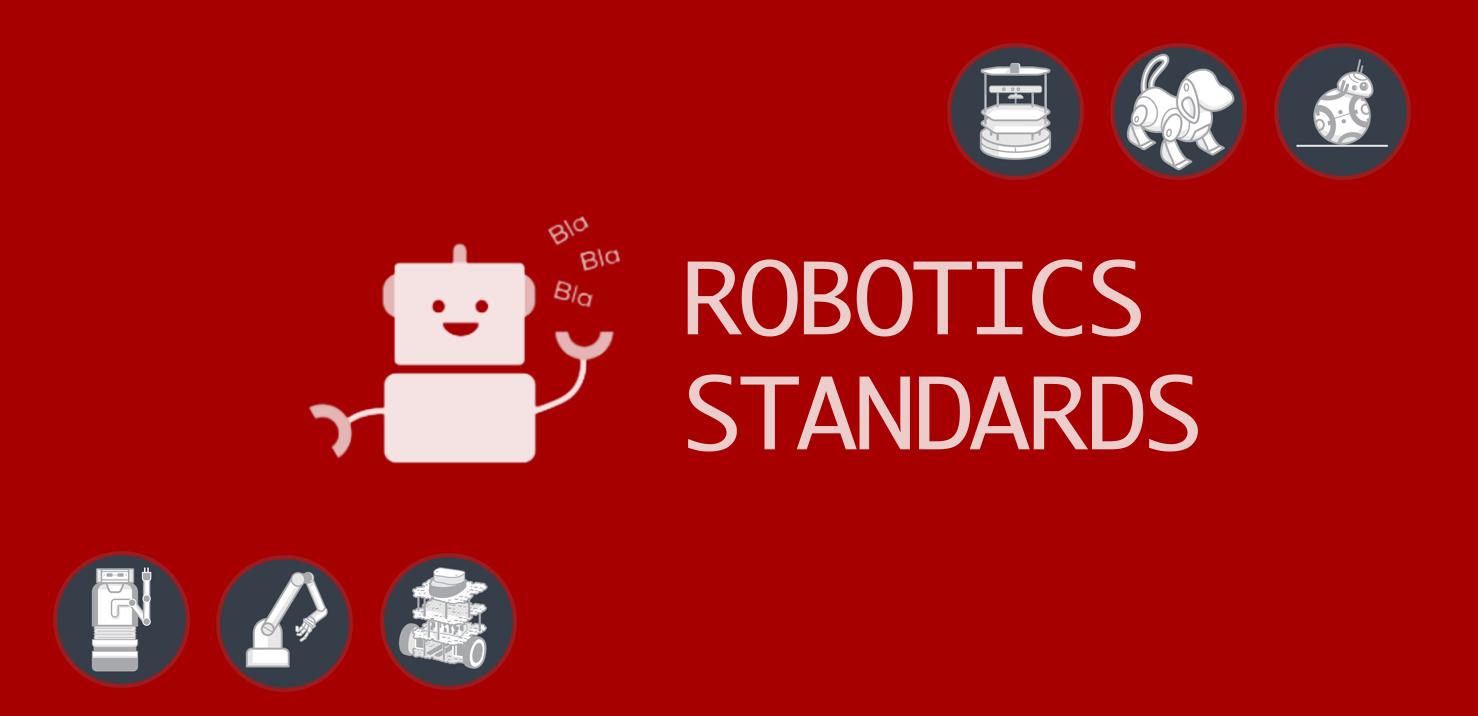 ROS robotics standard