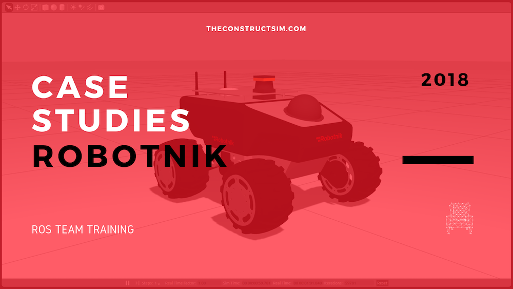 Case Studies of Robotnik ROS Team Training