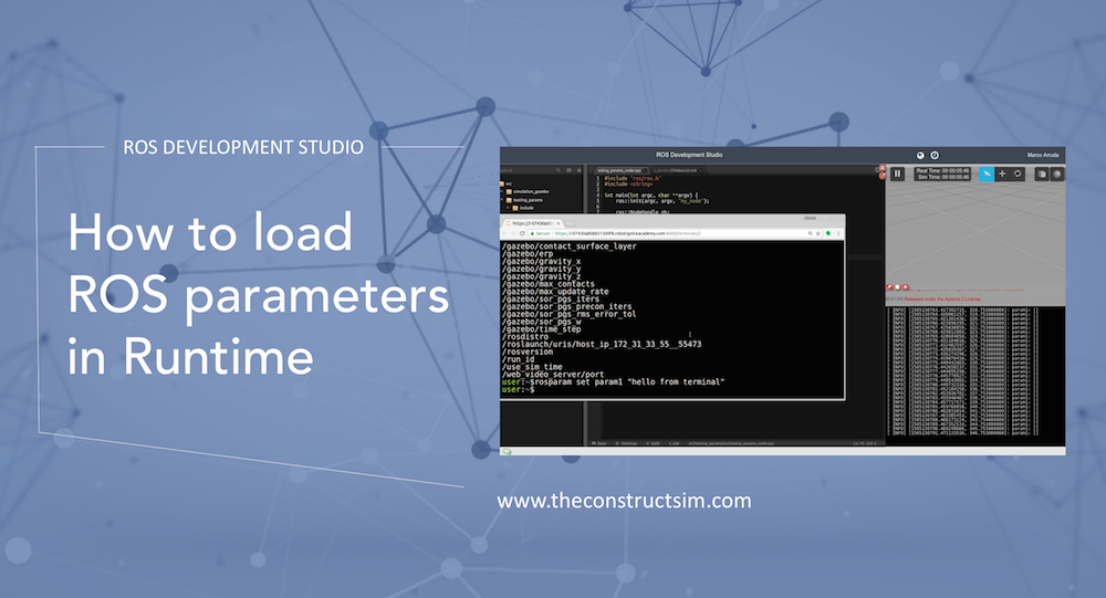 [ROS Q&A] How to load ROS parameters in Runtime