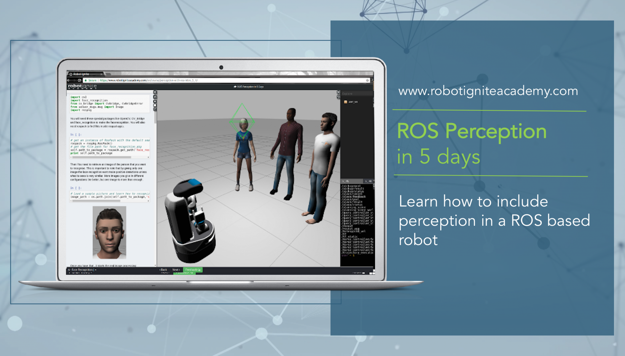 ROS Tutorials: ROS Perception in 5 Days | Robot Ignite Academy