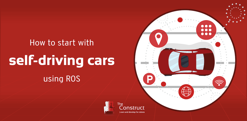 how to start with self driving cars with ros