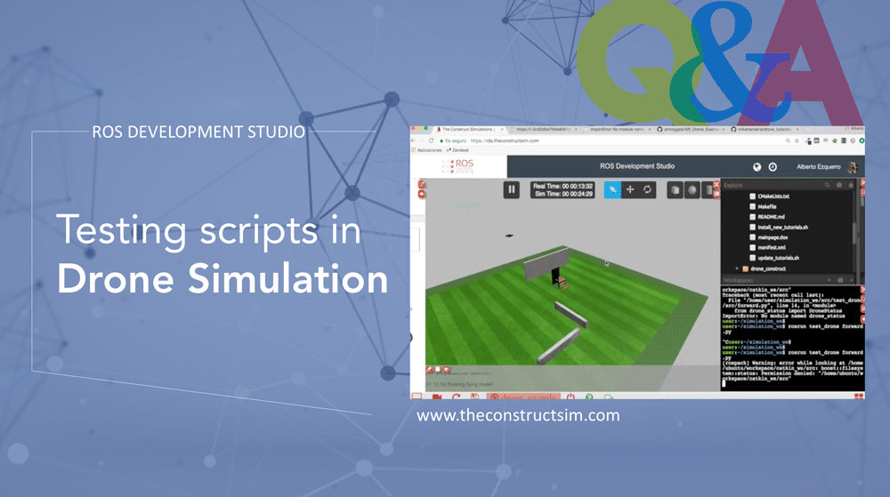 [ROS-Q&A]-Testing-scripts-in-Drone-Simulation