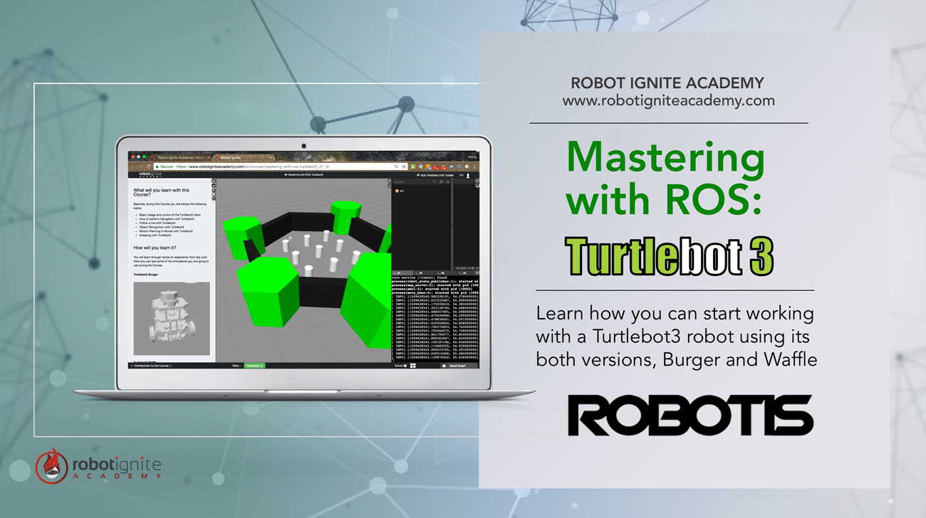 Mastering with ROS: Turtlebot3