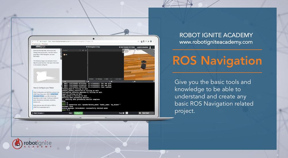 ROS Navigation in 5 Days