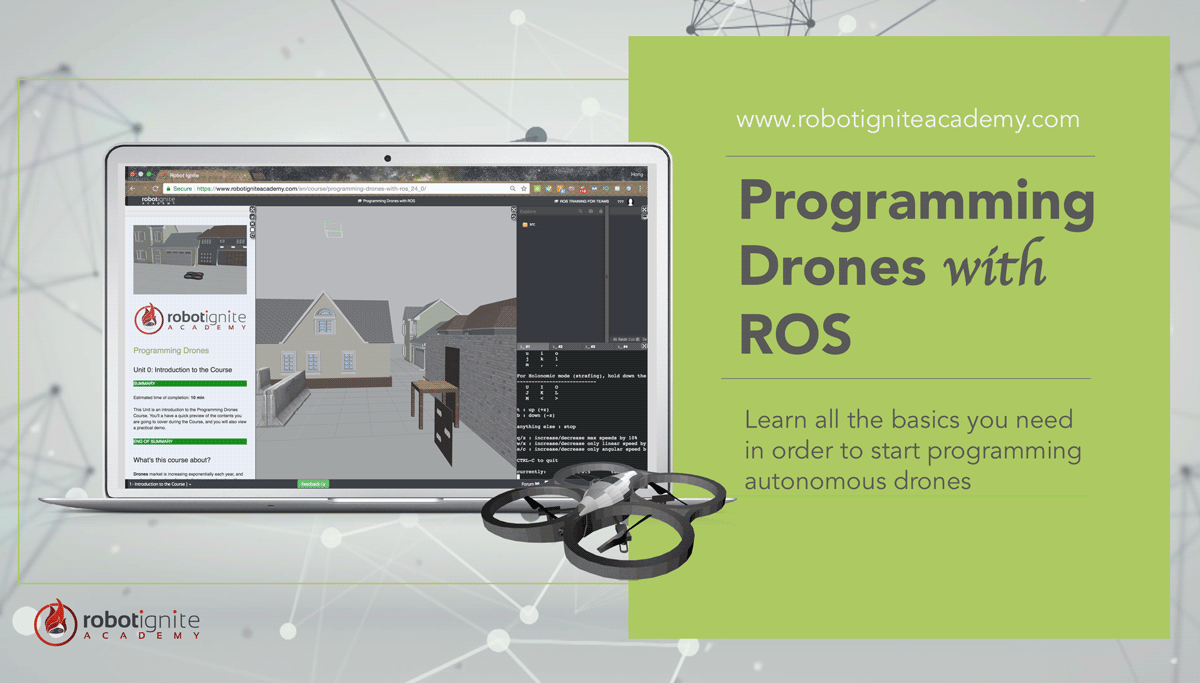 Programming Drones with ROS