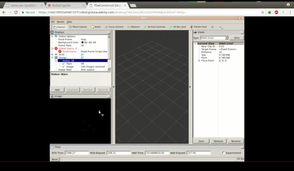 ROS Q&A] 086 - How can I publish OpenCv Mat image and see it