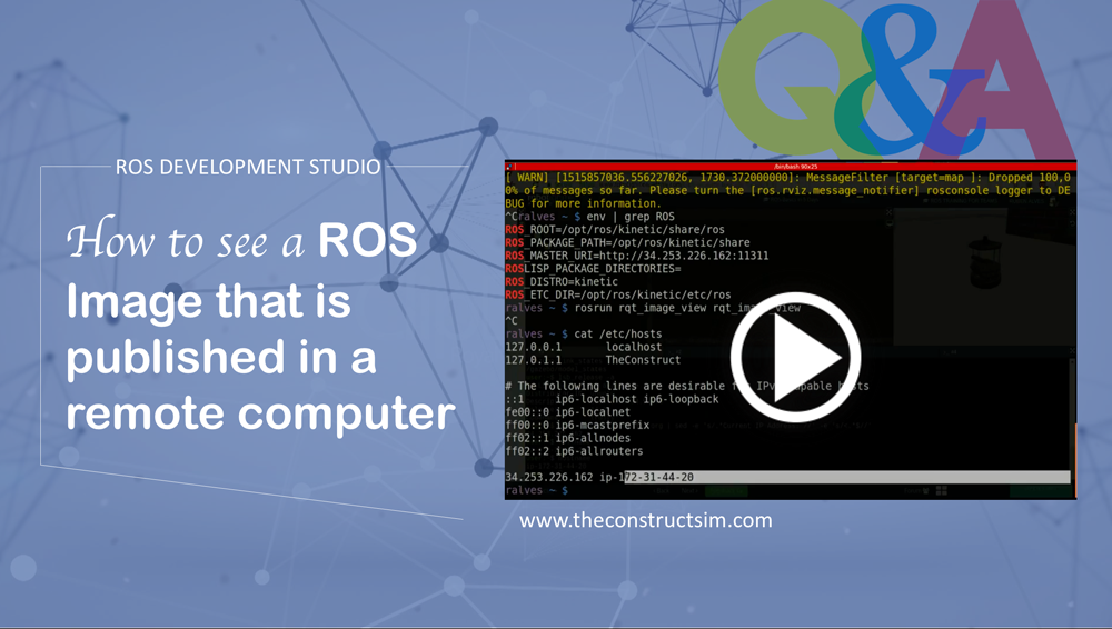 ROS Q&A | The Construct