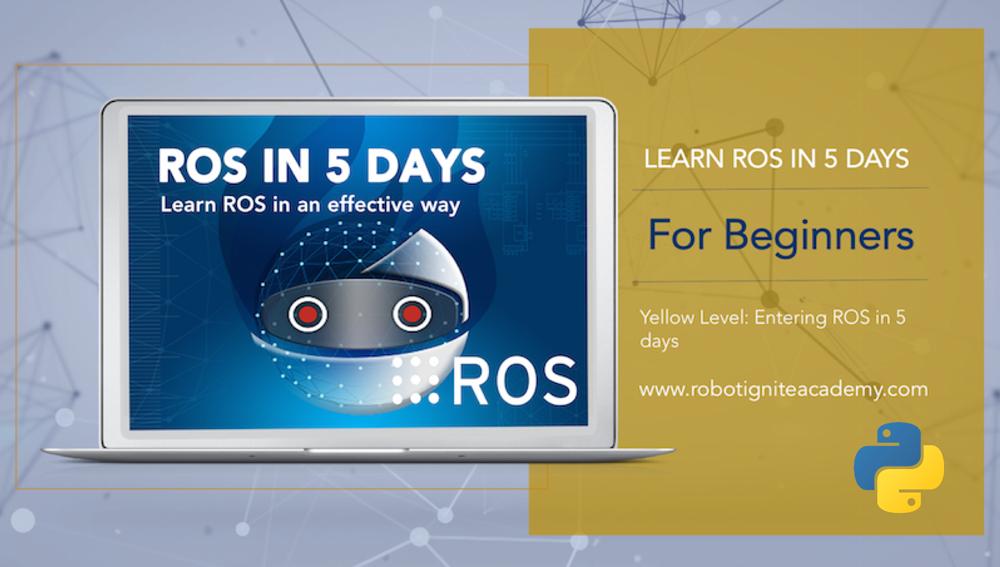 ROS BASICS in 5 Days (Python)