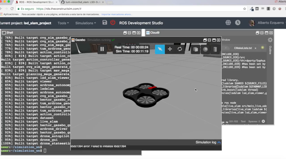 Ar Drone Ros Simulator - Best Pictures and Model Of Drone Sawimage Org