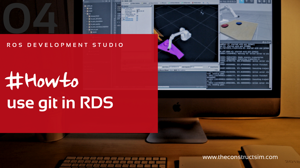 RDS] 004 - ROS Development Studio #Howto use git in RDS