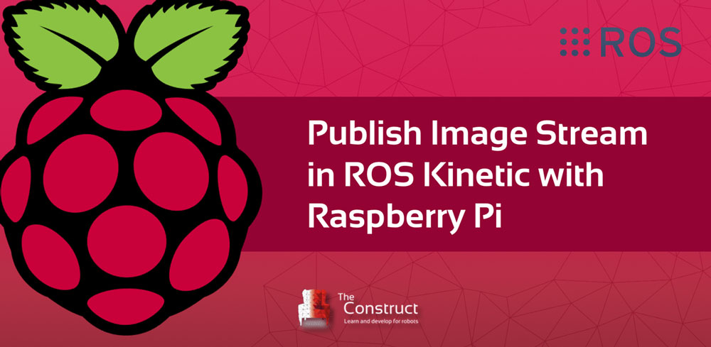 How to publish Image Stream in ROS Raspberry Pi | The Construct