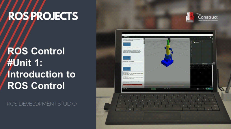 ROS Control Tutorials (using Gazebo robot simulation)