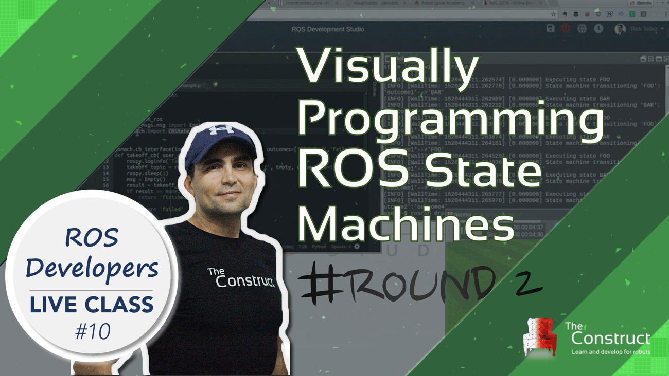 ROS Developers LIVE-Class #10
