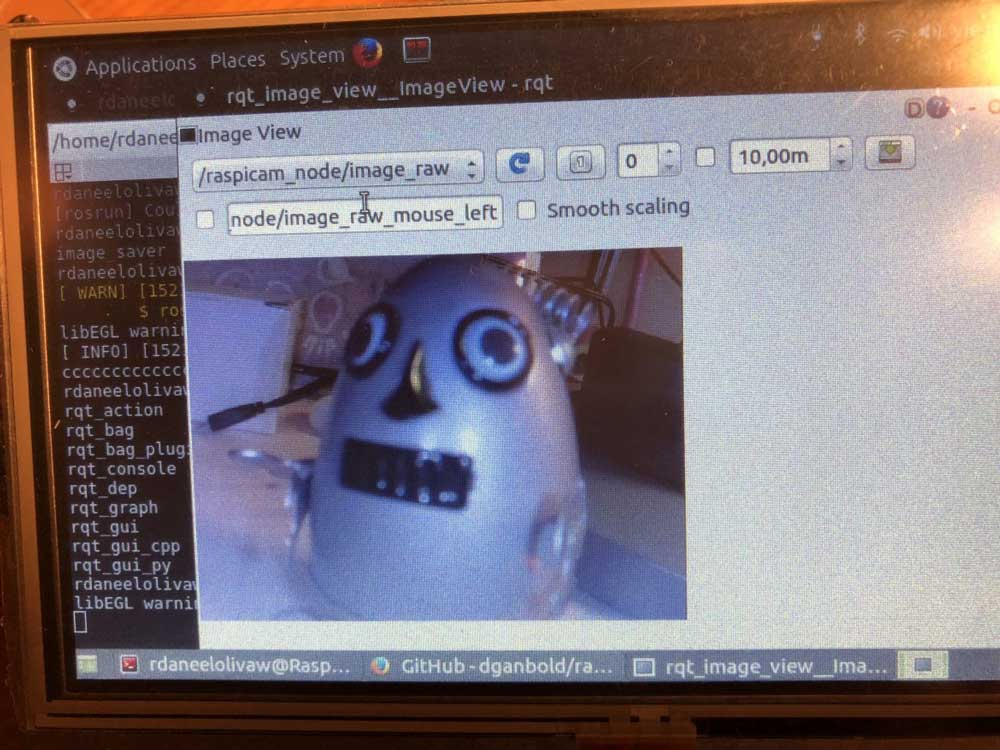 How to publish Image Stream in ROS Raspberry Pi Image 5