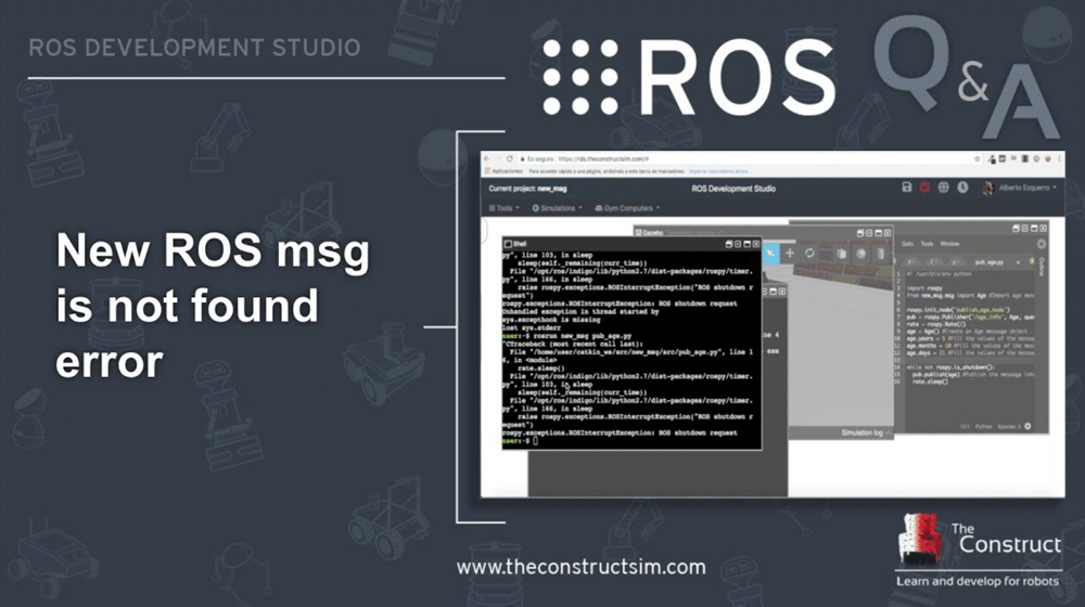 [ROS Q&A] 115 – New ROS msg is not found