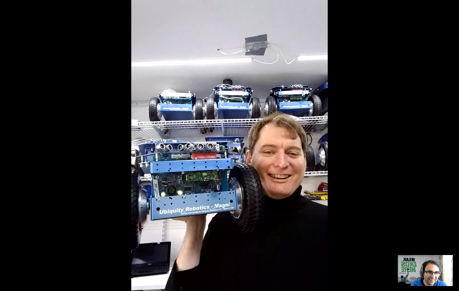 Building robotics products using ROS with David Crawley