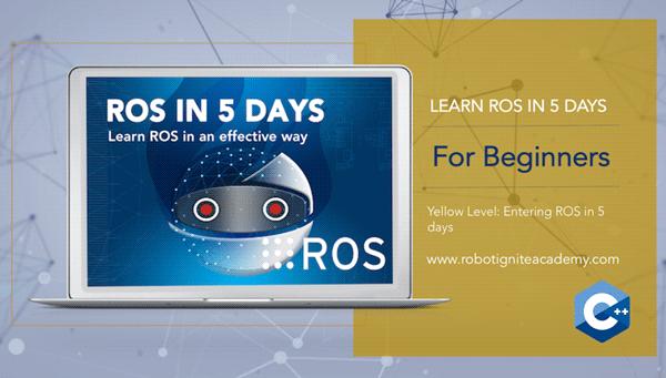 ROS BASICS in 5 Days (C++)