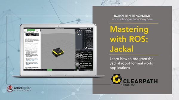 Mastering with ROS: Jackal