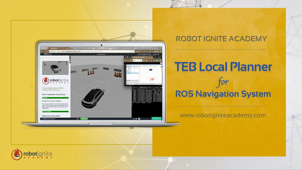 TEB Local Planner for ROS Navigation