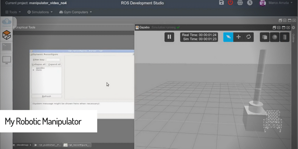 [ROS Projects] – My Robotic Manipulator – #Part 5 – ROS Controllers and XACRO