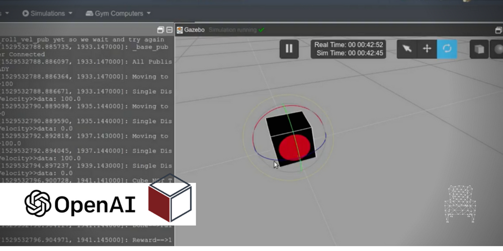 ROS Projects] OpenAI with Moving Cube Robot in Gazebo Step-by-Step