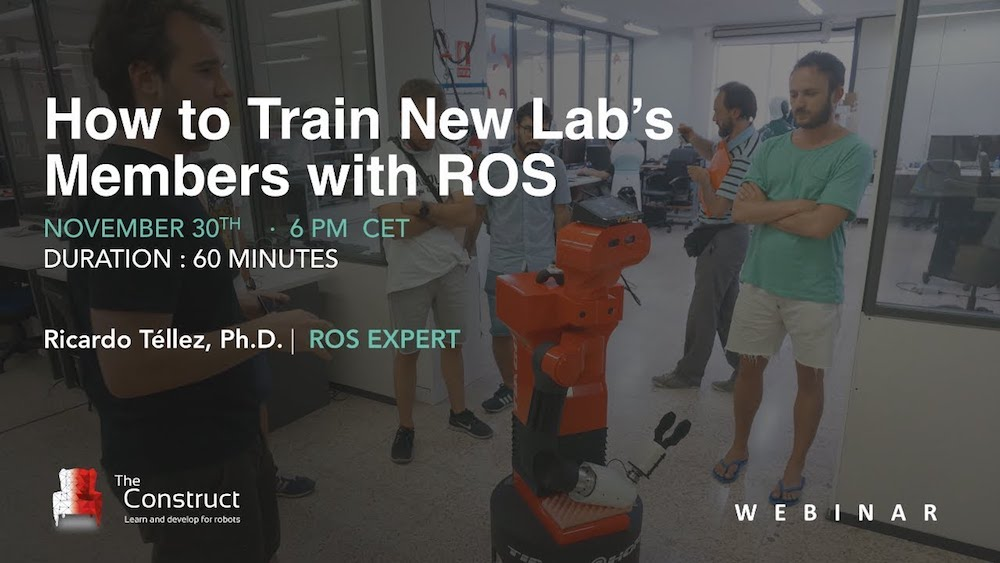 Webinar | How To Train Your Lab Interns' ROS Skills