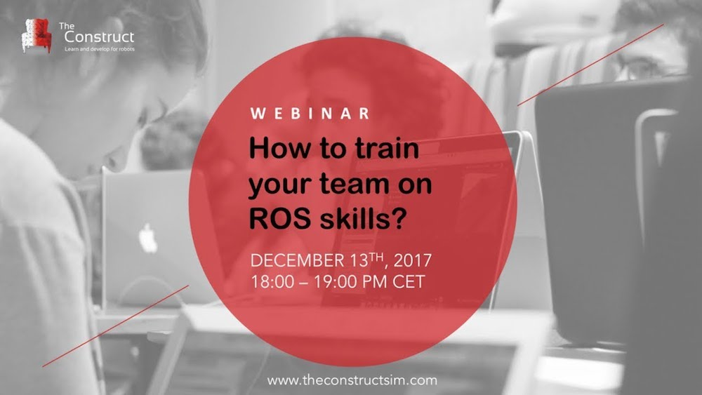 webinar how to train your team on ros skills