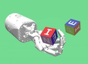 Simulated Hand OpenAI Manipulation Experiments