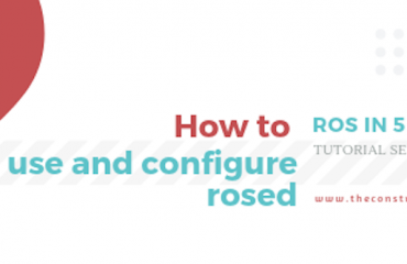 ROS Q&A] 108 - Visualize inflation layer in RViz | The Construct