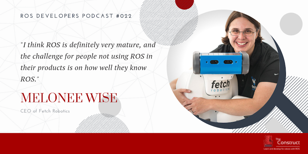 ros developers podcast 22 Building Warehouse ROS Robots With Melonee Wise