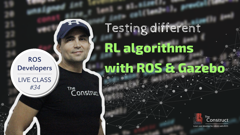 ROS Developers LIVE-Class #34