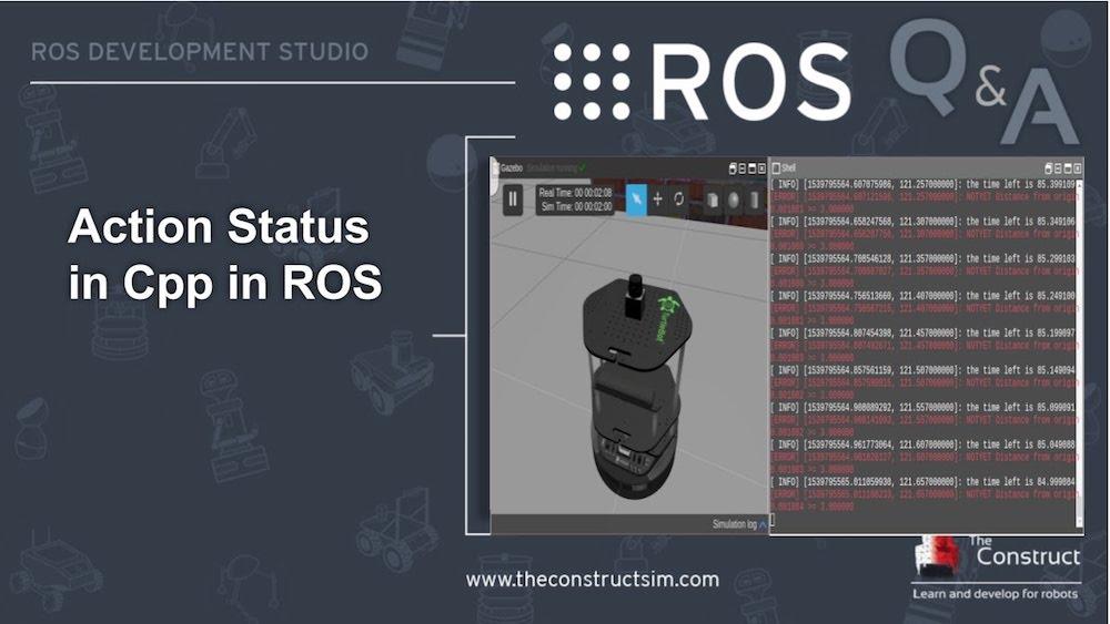 [ROS Q&A] 161 - Action Status in C++ in ROS