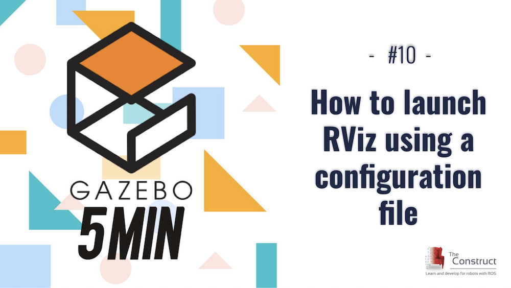 How to launch RViz using a configuration file