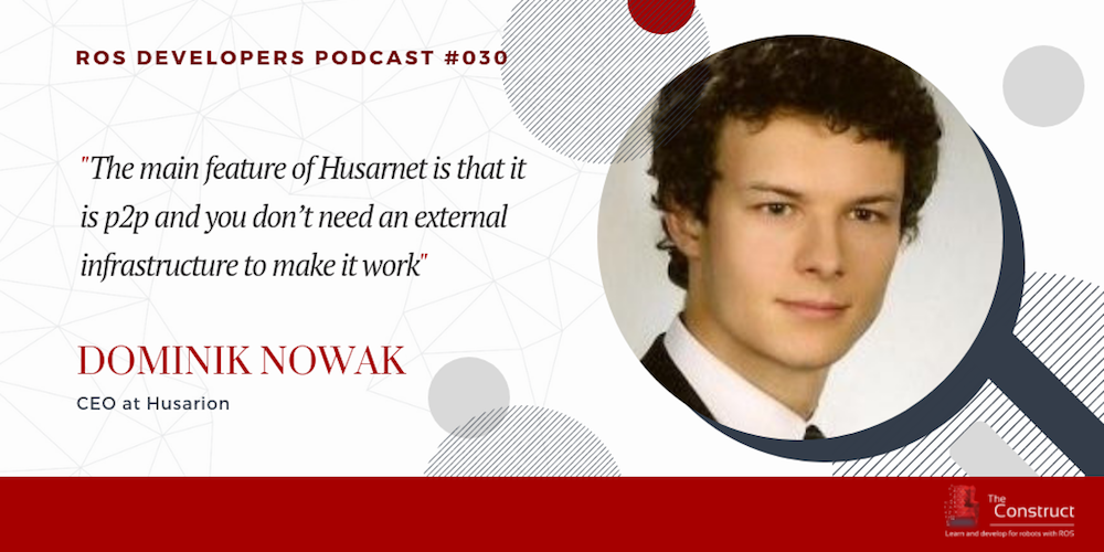 RDP 030- Husarnet Network for ROS Robots With Dominik Nowak