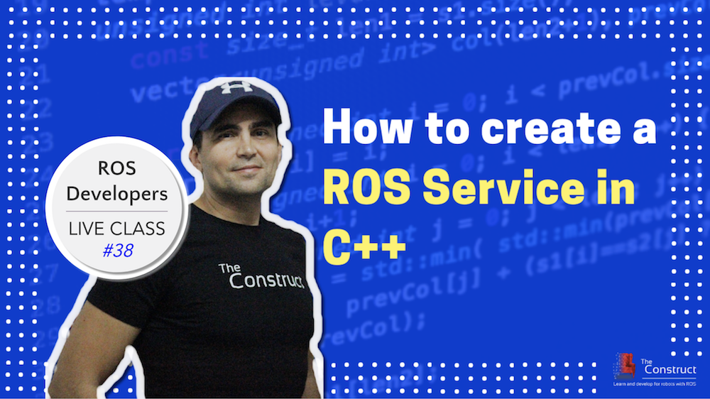 ROS Developers LIVE-Class #38