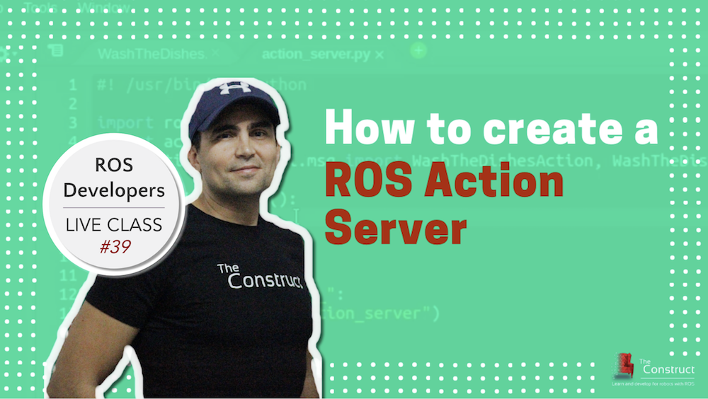 ROS Developers LIVE-Class #39