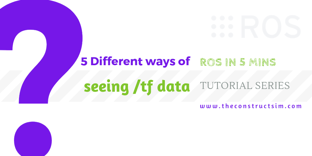 [ROS in 5 mins] 056 – Five different ways of seeing /tf data