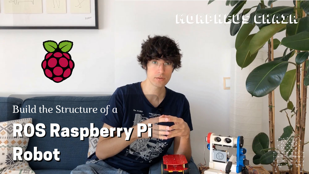 Build the Structure of a ROS RaspBerry Pi Robot