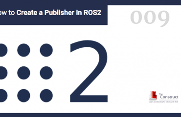 ROS in 5 min] How to publish the position of a robot using