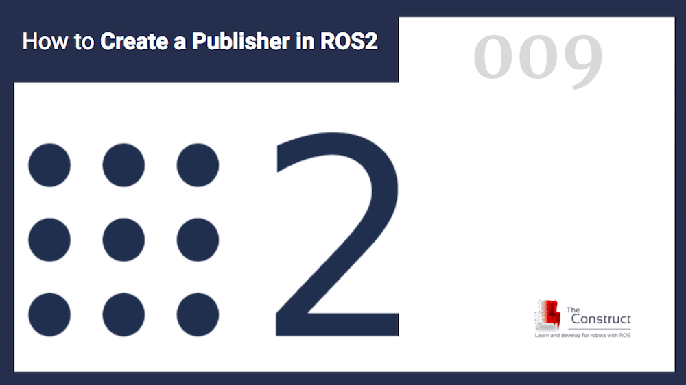 How to Create a Publisher in ROS2, using Python