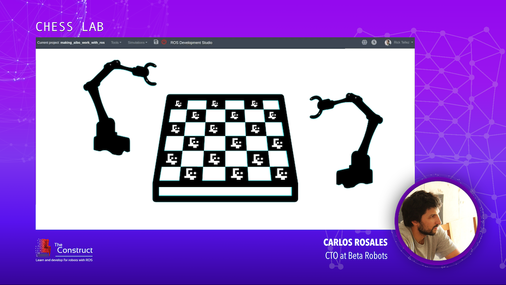 CHESS LAB Carlos Rosales ROS Developers Conference 2019