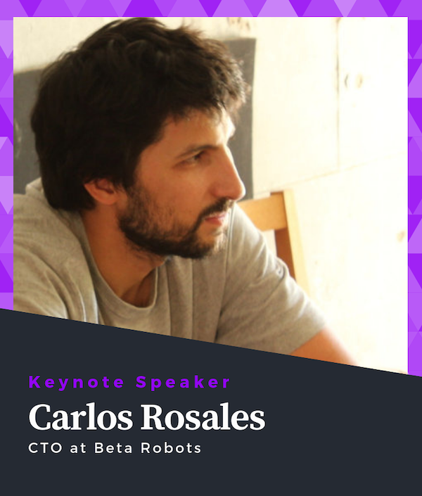 Carlos Rosales Keynote Speaker of ROS Developers Conference 2019