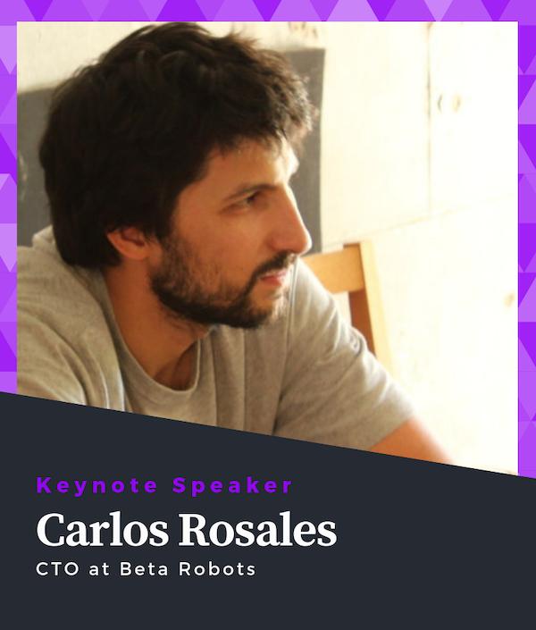 Carlos Rosales Keynote Speaker of ROS Developers Conference 2019