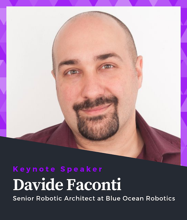 Davide Faconti Keynote Speaker of ROS Developers Conference 2019