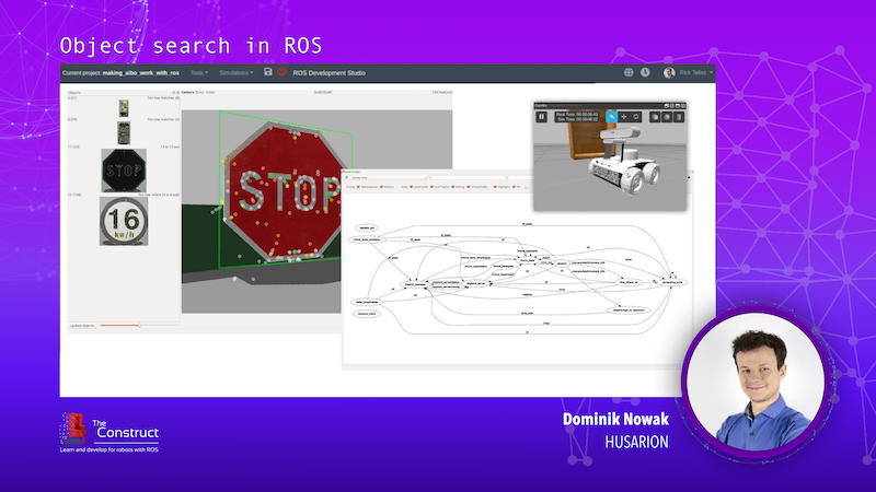 Object search in ROS Dominik Nowak ROS Developers Conference 2019
