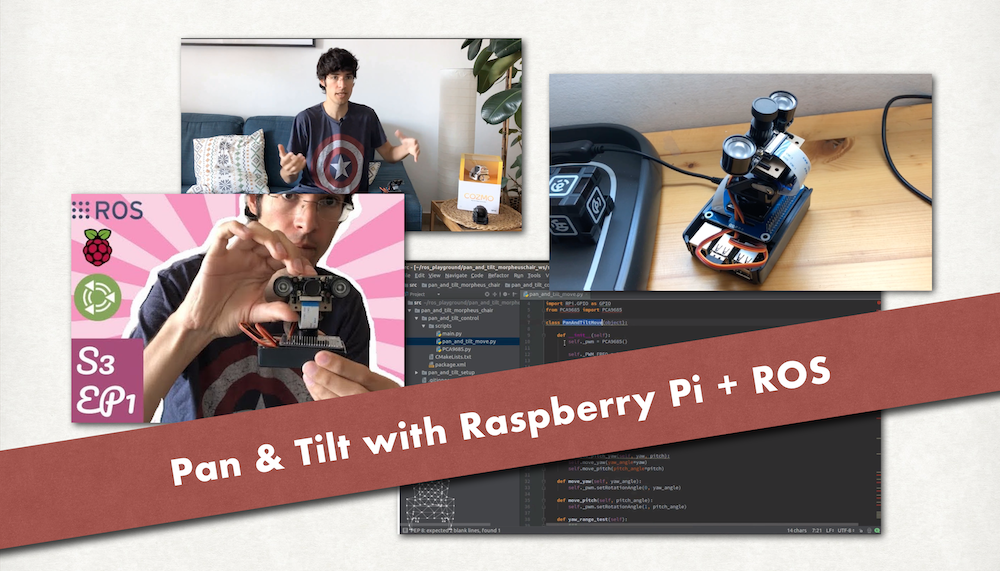 Pan & Tilt with Raspberry Pi and ROS tutorials the construct